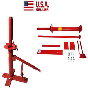 Manual Portable Tire Changer Hand Bead Breaker Mounting Tool Home Shop Auto Red