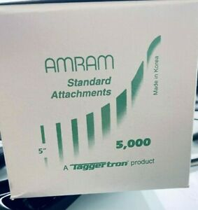 Amram 5 Tagging Barbs Price Tags Attachments Box Of 5000 New In Box