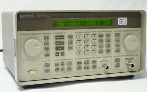 Hp Agilent 8647a Signal Generator 250khz 1000mhz W Option 1e5 115 220v Tested