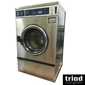 02 Dexter 25lb Coin Commercial Washer 1phase Laundromat Huebsch Unimac Ipso