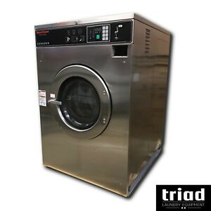 03 Speed Queen 50lb Coin Commercial Washer 3ph Laundromat Huebsch Unimac Ipso
