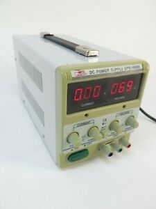Mastech Gps 1850d Regulated Variable Dc Power Supply 18v 5a