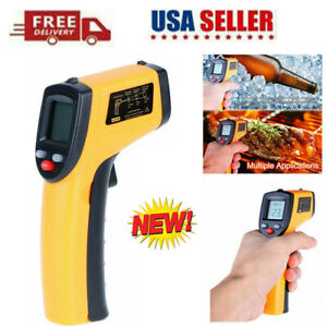 Non contact Thermometer Lcd Laser Infrared Digital Temperature Gun Pyrometer Usa