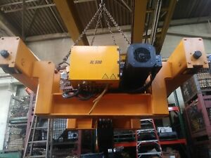 20 Ton Kone Crane Low Headroom Xl 500 Hoist And Trolley