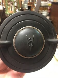 Original 1935 36 Ford Deluxe Banjo Steering Wheel Horn Button Light Switch Rod