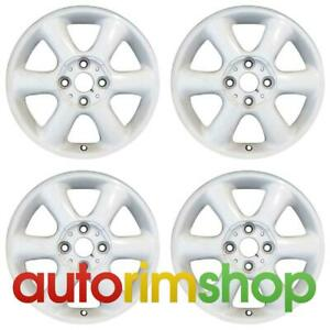 Mini Clubman Cooper 2007 2014 15 Oem Wheel Rim Set White