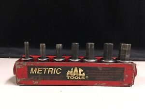 Mac Tools Metric 7 Pc Hex Allen Socket Driver Set 3 8 Xds Xt34y