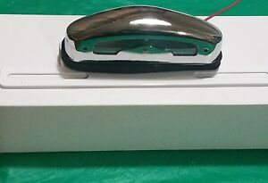 Ih Ihc Scout Pickup Airstream Chrome License Plate Light Lamp With Bracket