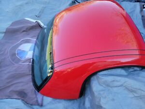 1997 2004 Porsche Boxster Hardtop Roof Oem Red Chicago