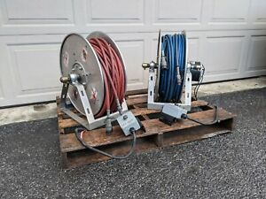 Amkus Rescue System Hydraulic Hose Reel With 100 Hose And Power Retract
