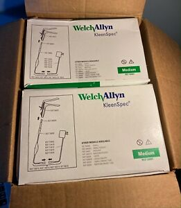 2 New Boxes Of Welch Allyn Kleenspec 58001 Vaginal Speculums