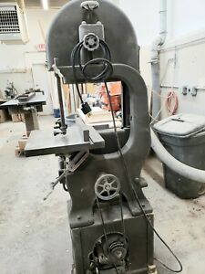 Walker Turner 16 Inch Bandsaw Vintage Barn Find