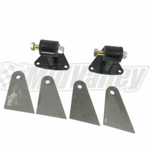 Small Big Block Chevy Engine Swap Weld In Motor Mounts For Sbc Bbc Engines