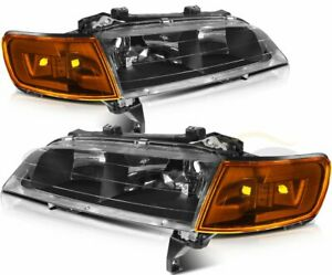 Headlights Assembly For 1994 1997 Honda Accord Front Lamps Left right Sides Pair