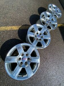 18 Gmc Yukon At4 6x5 5 Chevy Sierra Denali Tahoe Oem Factory Stock Wheels Rims