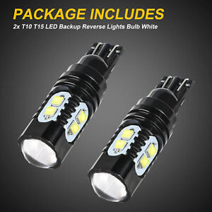 2x 50w Cree 921 912 T10 T15 Led Hid White Backup Reverse Lights Bulb High Power