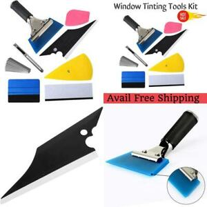 Window Tinting Tools Kit tools Squeegee Scraper Auto Vinyl Wrap Installation