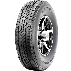4 New Maxxis St Radial M8008 St 225 75r15 117q E 10 Ply Trailer Tires