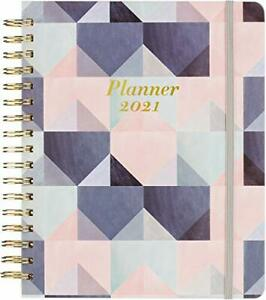 2021 Planner Weekly Monthly Planner With Gift Box 8 X 10 Thick Blue
