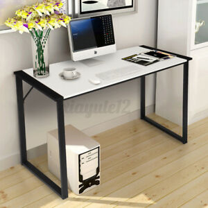 Computer Desk 43 Inch Home Office Writing Small Desk Modern Simple Style Pc