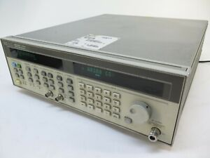 Hp 83751a 2 To 20 Ghz Synthesized Sweep Generator W Opts 1e1 1ed