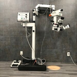 Leica Wild M 691 Surgical Microscope With Dual Head