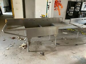 8 x29 x38 Stainless Steel Double Basin Sinks