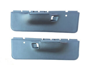 Front Door Panel Set Fits 1971 1972 Dodge Charger Coronet Roadrunner Satellite