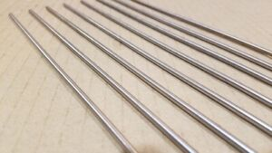 304 Stainless Steel 1 8 Round 11 Long Bars Rods 8 Pack