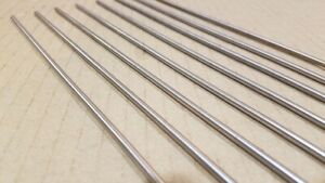 304 Stainless Steel 1 8 Round 10 Long Bars Rods 8 Pack