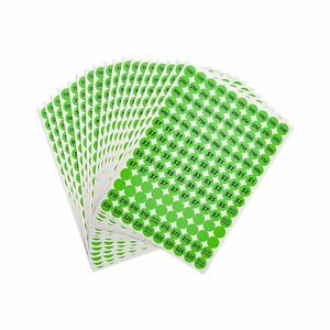 Anronal 2520 Count Garage Sale Pricing Stickers Removable Yard Sale Labels Wi