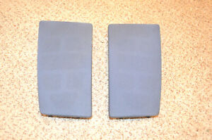 Pontiac Fiero Speaker Grill Covers Dash Oem Pair Blueish Gray Notice The Shape