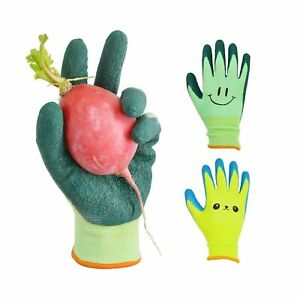 Glosav Kids Gardening Gloves For Ages 2 12 Toddlers Youth Girls Boys Chil