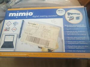Mimio Digital Meeting Assistant For Whiteboard Warranty