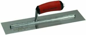 Marshalltown Concrete Finishing Trowel 14 X 3 Curved Handle Mxs57d