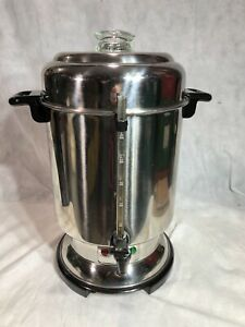 Delonghi Dcu62 Ultimate Commercial Coffee Maker Pot Urn 20 60 Cup Missing Tube