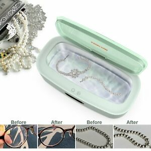 Mini Ultrasonic Cleaner Ultrasound Jewelry Cleaning Machine For Gold Silver