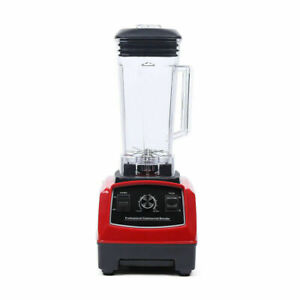 2l Commercial Blender Mixer 1500w For Milkshakes Green Smooths Dry Grinding