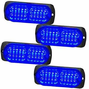 Mustbee 24 Led Strobe Lights For Trucks Cars Pickups Construction Emergency V