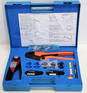 Bnc Coax Crimper Kit 5648d2 Crimpers With Dies Strippers R 5648b