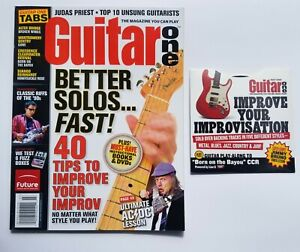 Guitar One Magazine July 2005 *CD ROM inc* Better Solos Fast Cover Issue Django $5.95