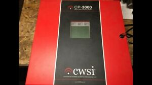 Cwsi Cp 3000 Wireless Commercial Fire Alarm System