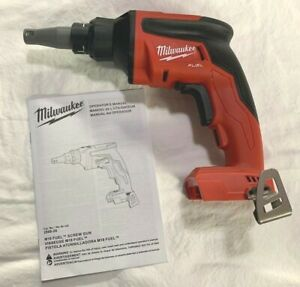 Milwaukee M18 Fuel 2866 20 Drywall Screwgun Brushless Drill 18v Tool Only new