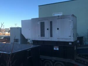 350kw Armstrong Iveco Diesel Generator W Tank Tested Working