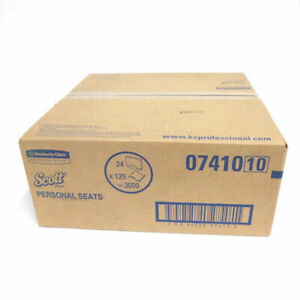 Scott Toilet Seat Covers 15 X 18 125 Covers pack 24 Packs carton 07410