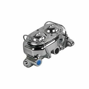 Summit Racing 760101 Master Cylinder Cast Iron Chrome 1 125 Bore Universal Each