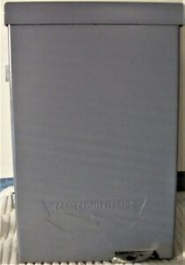 Connecticut Elec 30a 240v Ac Fusible Air Conditioner Disconnect Switch Box 1