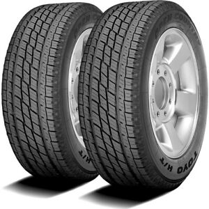 2 New Toyo Open Country H T Lt 225 75r16 115 112s E 10 Ply Ht Light Truck Tires