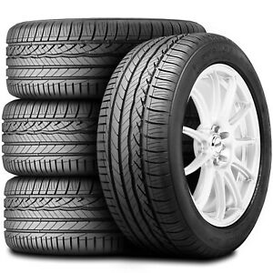 4 New Dunlop Signature Hp 245 45r17 95w A s Performance Tires