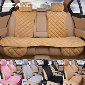 Auto Car Seat Cover Cushion Pad Chair Mat Front Rear Back Protector Warm Plush